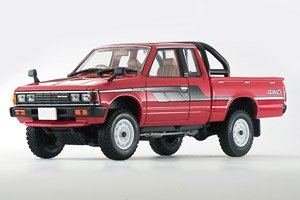 TLV-N43-26a ダットサン キングキャブ4WD (赤) (ミニカー)