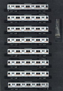 J.R. Series 205-5000 (Musashino Line/Formation M18) Eight Car Formation Set (w/Motor) (8-Car Set) (Pre-colored Completed) (Model Train)