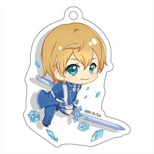 Sword Art Online Alicization Pop-up Character Die-cut Acrylic Key Ring Eugeo (Anime Toy)