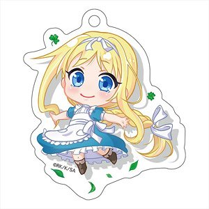 Sword Art Online Alicization Pop-up Character Die-cut Acrylic Key Ring Alice (Childhood) (Anime Toy)