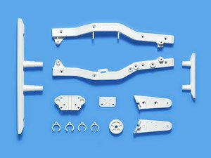 Wr-02CB F Parts (Frame) (White) (RC Model)