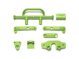 Wr-02CB M Parts (Bumper) (Yellow Green) (RC Model)