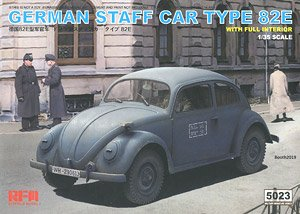 ドイツ軍 スタッフカー タイプ82E (プラモデル)