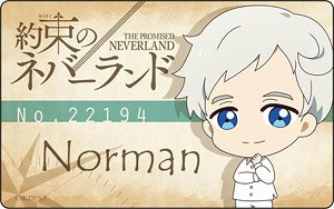 The Promised Neverland Plate Badge Norman Deformed Ver
