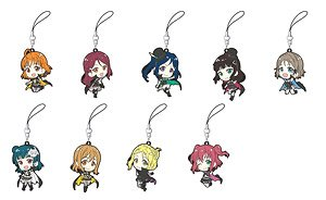[Love Live! Sunshine!!] Rubber Strap Collection/Phantom Thief (Set of 9) (Anime Toy)