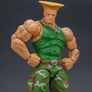 Ultra Street Fighter II: The Final Challengers Guile (PVC Figure)