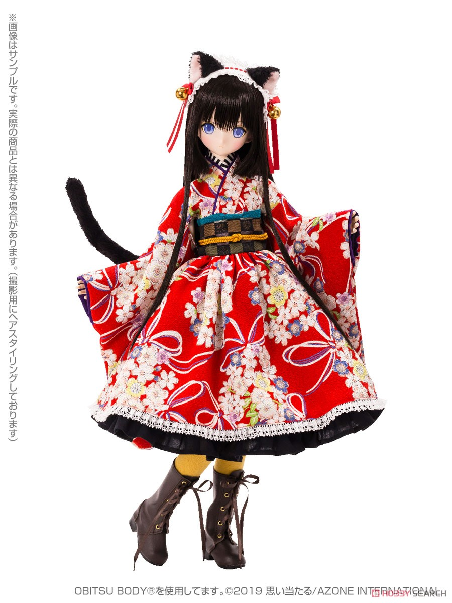 48cm Original Doll Time of Eternal Series Alice / Time of Grace IV -Taisho Roman- Black Cat Rondo *Secondary Production (Fashion Doll) Item picture2