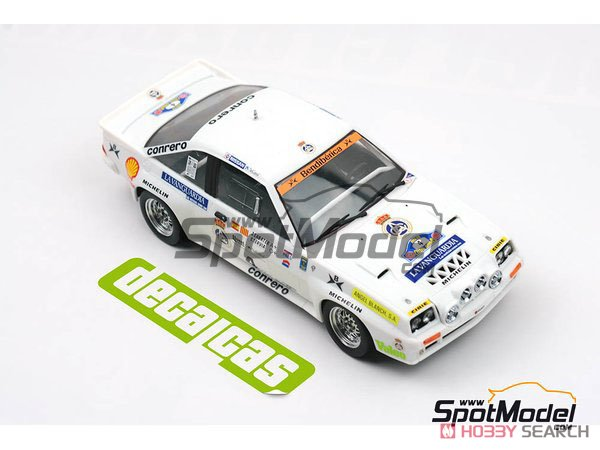 Opel Manta 400 Gr.B Costa Brava Rally 1984 RAC Catalnia Decal Set (Decal) Other picture7