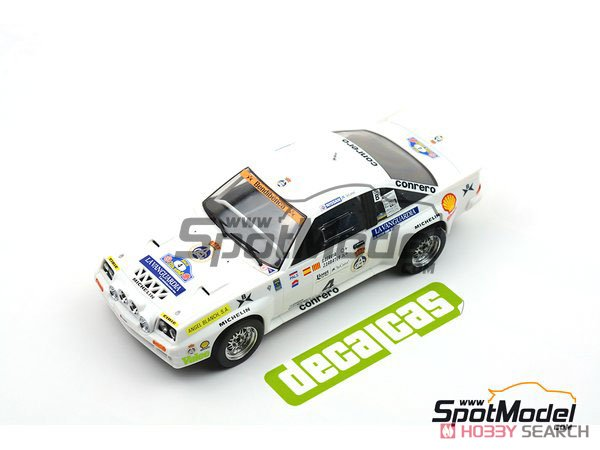 Opel Manta 400 Gr.B Costa Brava Rally 1984 RAC Catalnia Decal Set (Decal) Other picture9