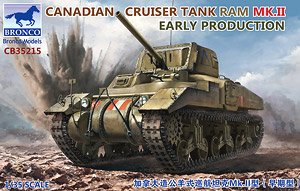Canadian Cruiser Tank RAM MK.II Early Production (Plastic model)