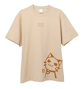 [Today`s Menu for Emiya Family] T-Shirts Beige (Anime Toy)