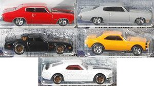 Hot Wheels The Fast and the Furious Assorted 1/4 Mile Muscle (Set of 10) (Completed)