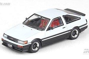 トヨタ カローラレビン AE86 ホワイト/ブラック (ミニカー)