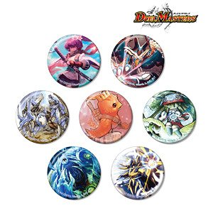 Duel Masters Trading Can Badge (Set of 7) (Anime Toy)
