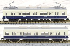 Ueda Electric Railway Series 1000 (Maruma-Dream Go (Mimaki Go)) Two Car Formation Set (w/Motor) (2-Car Set) (Pre-Colored Completed) (Model Train)