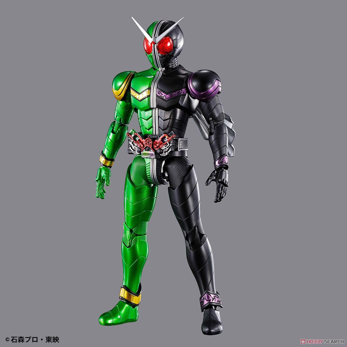 Figure-rise Standard Kamen Rider Double Cyclone Joker (Plastic model) Item picture1
