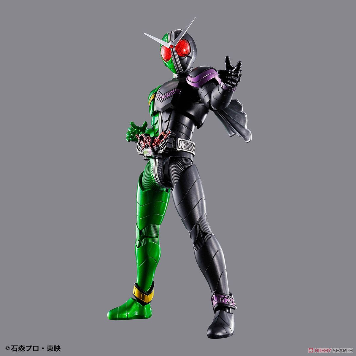Figure-rise Standard Kamen Rider Double Cyclone Joker (Plastic model) Item picture4