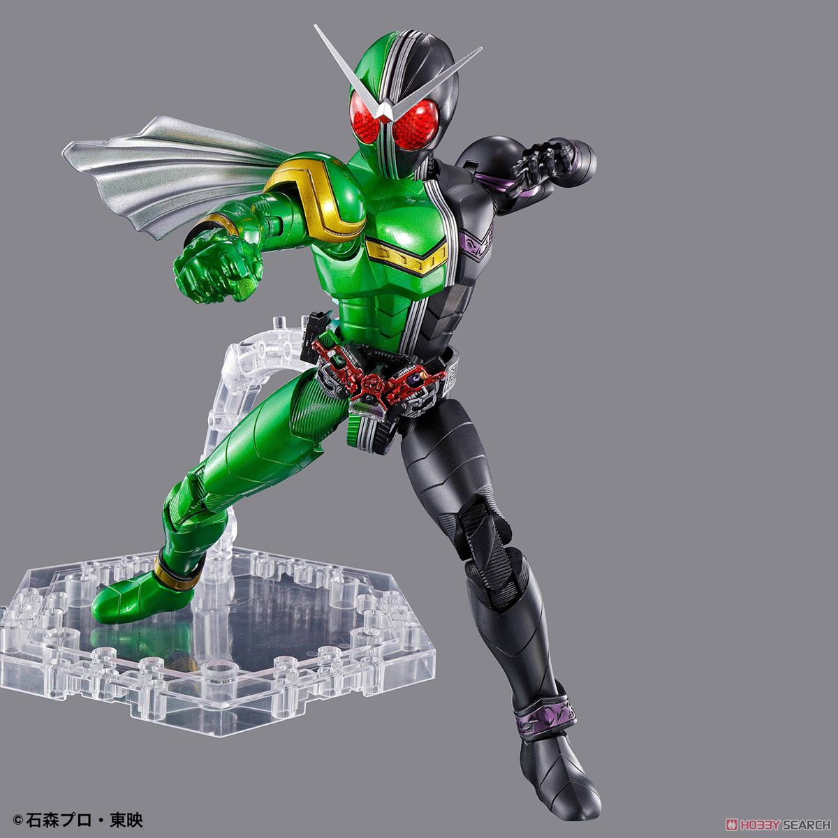 Figure-rise Standard Kamen Rider Double Cyclone Joker (Plastic model) Item picture5