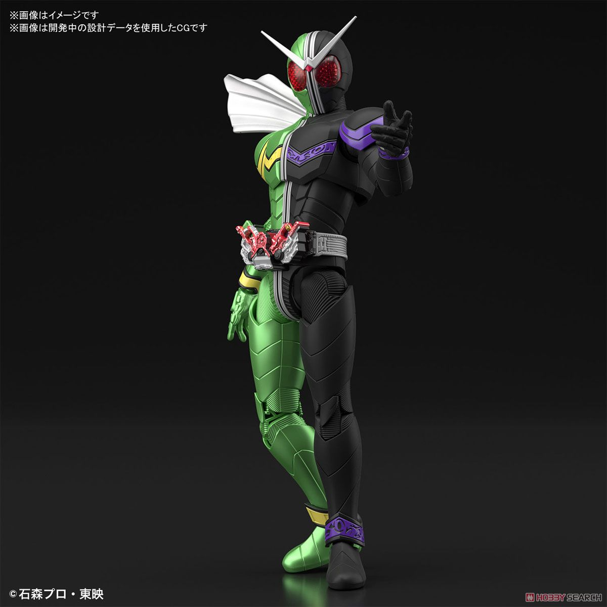 Figure-rise Standard Kamen Rider Double Cyclone Joker (Plastic model) Other picture2