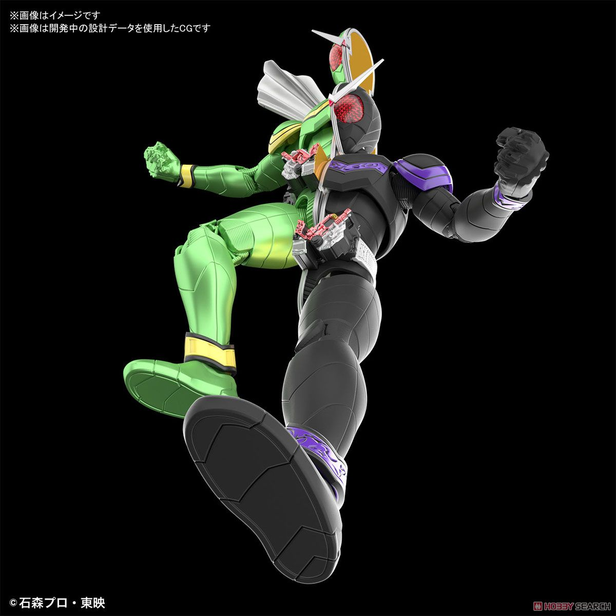 Figure-rise Standard Kamen Rider Double Cyclone Joker (Plastic model) Other picture3