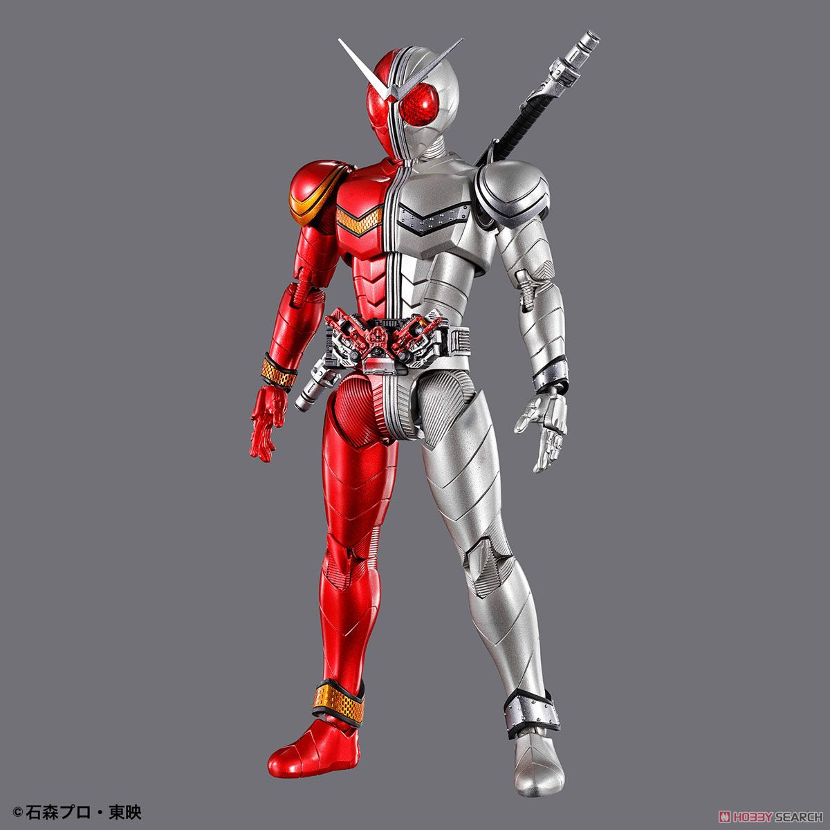 Figure-rise Standard Kamen Rider Double Heat Metal (Plastic model) Item picture1
