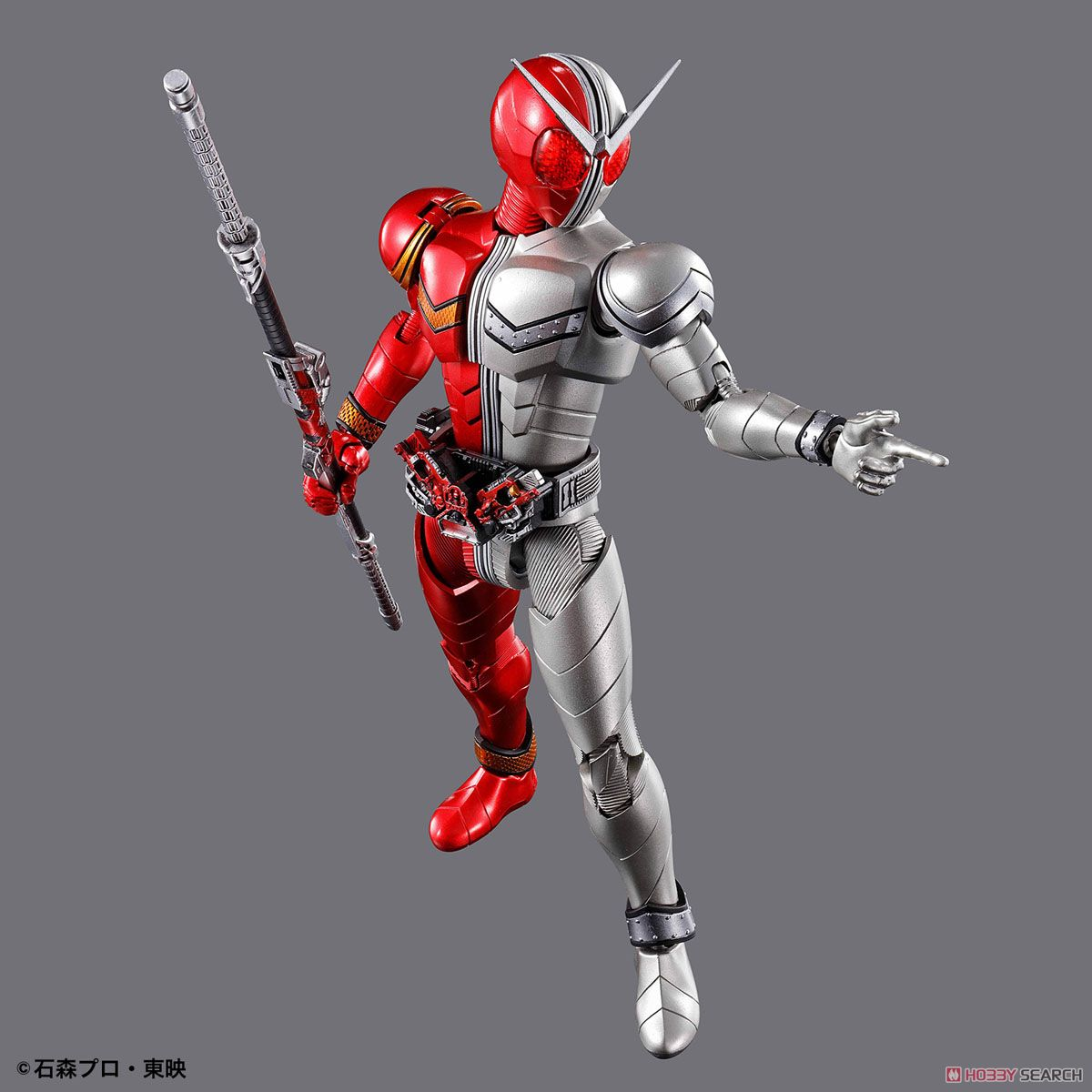 Figure-rise Standard Kamen Rider Double Heat Metal (Plastic model) Item picture5