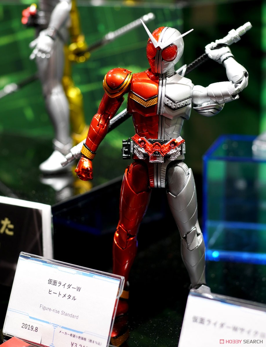 Figure-rise Standard Kamen Rider Double Heat Metal (Plastic model) Other picture4