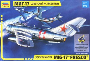 Soviet Fighter MiG-17 `Fresco` (Plastic model)