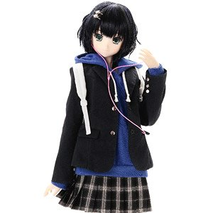 48cm Original Doll Happiness Clover Kina Kazuharu School Uniform Collection / Nanaka (Fashion Doll)
