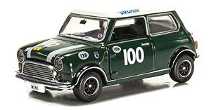 Tiny City Mini Cooper Racing #100 (Diecast Car)
