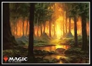 Magic The Gathering Players Card Sleeve [Theros] (Forest) (MTGS-095) (Card Sleeve)