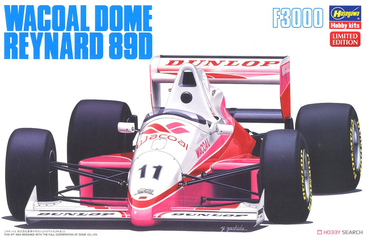 Wacoal Reynard 89D (Model Car) Package1