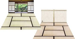 Diorama Sheet M F009 Japanese Room Set B (Fashion Doll)