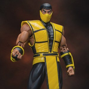 Mortal Kombat 1/12 Action Figure Scorpion Ver.2 (Fashion Doll)