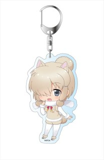 Kemono Friends 2 Alpaca Suri Especially Illustrated Acrylic Key Ring Anime Toy Hobbysearch Anime Goods Store