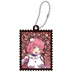 Astra Lost in Space Art Nouveau Series Die-cut Acrylic Key Ring Aries Spring (Anime Toy)