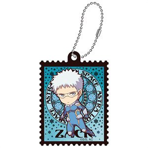 Astra Lost in Space Art Nouveau Series Die-cut Acrylic Key Ring Zack Walker SD (Anime Toy)