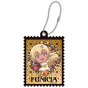 Astra Lost in Space Art Nouveau Series Die-cut Acrylic Key Ring Funicia Raffaelli SD (Anime Toy)