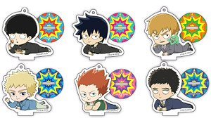 TV Animation [Mob Psycho 100 II] Gororin Acrylic Key Ring Collection (Set of 6) (Anime Toy)