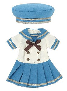 Picco D Gymnasium Sailor One-piece Set (Light Blue) (Fashion Doll)