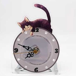 My Roommate Is a Cat Acrylic Table Clock (Anime Toy)