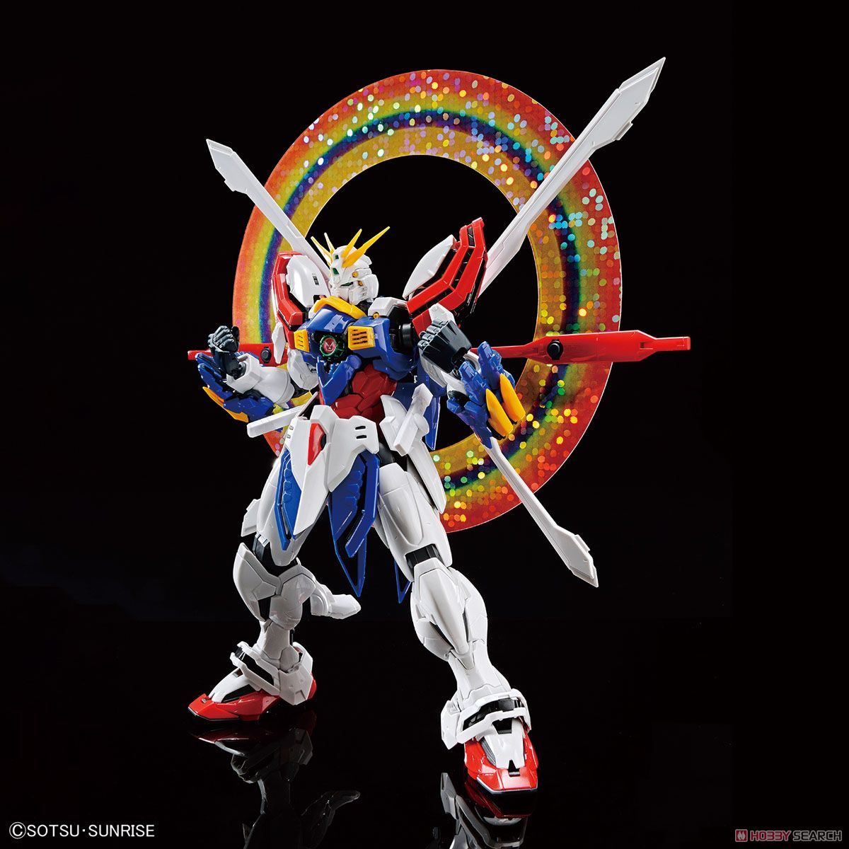 High-Resolution Model God Gundam (1/100) (Gundam Model Kits) Item picture1