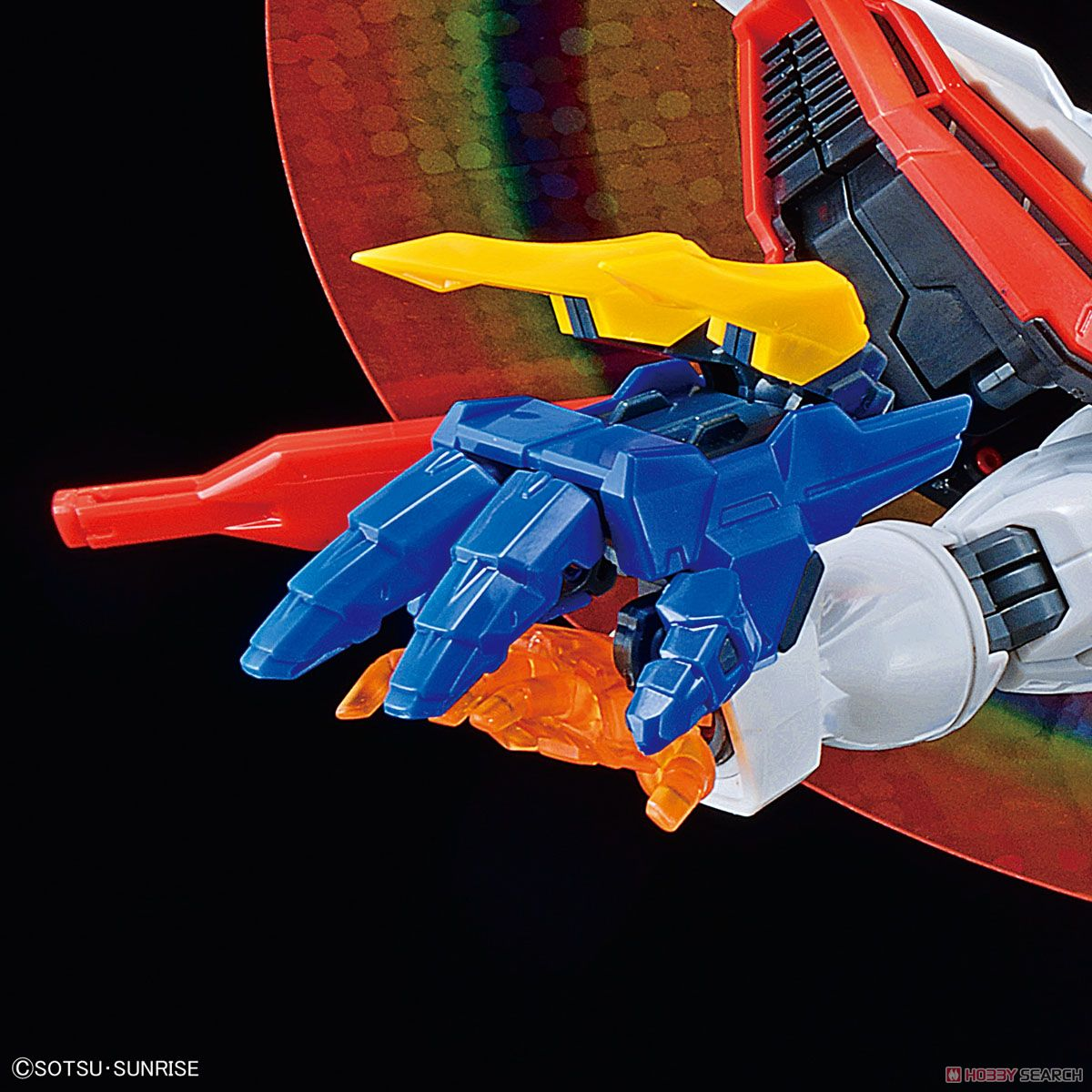 High-Resolution Model God Gundam (1/100) (Gundam Model Kits) Item picture10