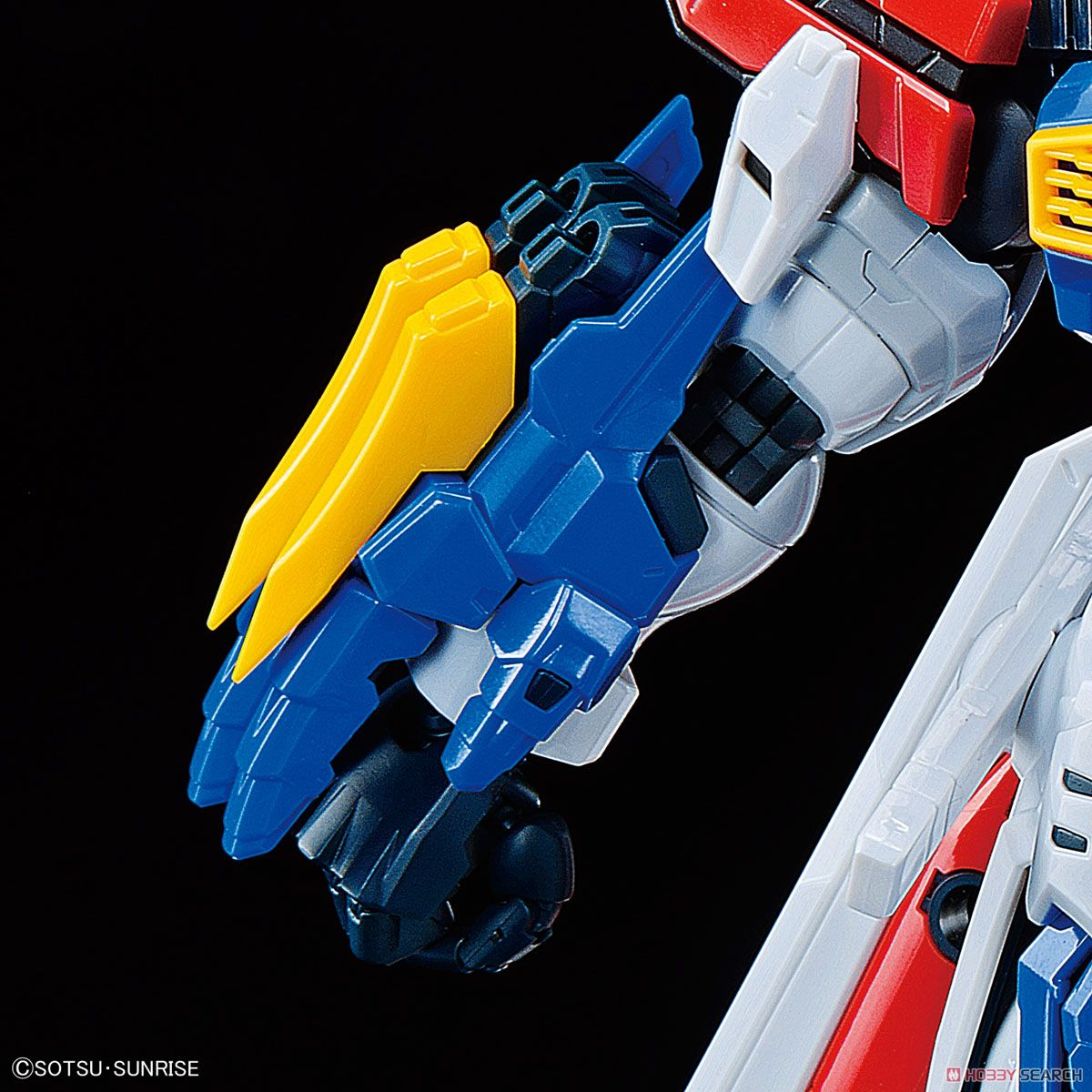 High-Resolution Model God Gundam (1/100) (Gundam Model Kits) Item picture11