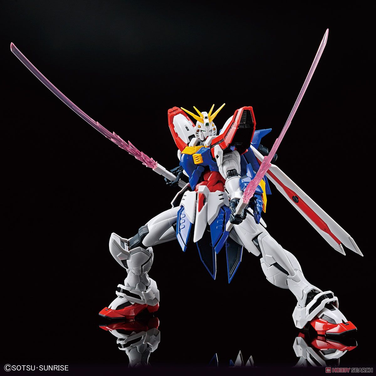 High-Resolution Model God Gundam (1/100) (Gundam Model Kits) Item picture17