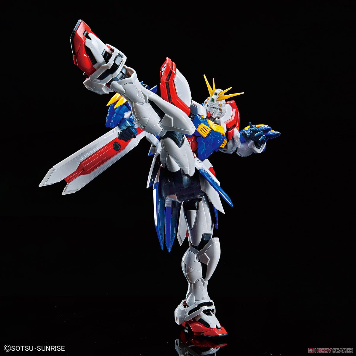 High-Resolution Model God Gundam (1/100) (Gundam Model Kits) Item picture2