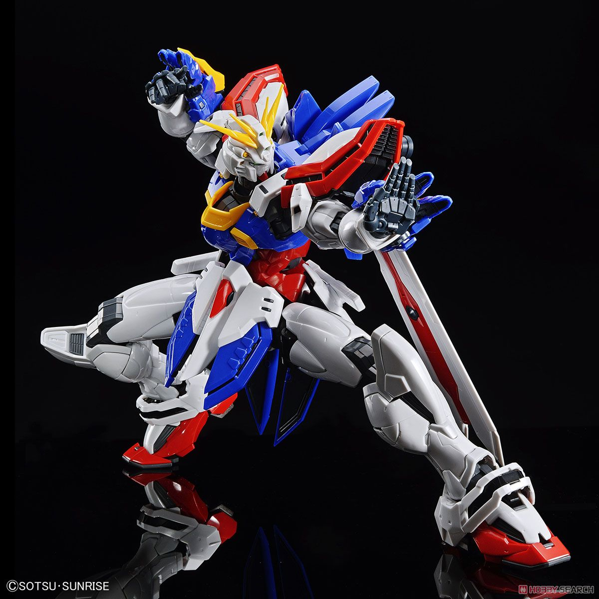 High-Resolution Model God Gundam (1/100) (Gundam Model Kits) Item picture3