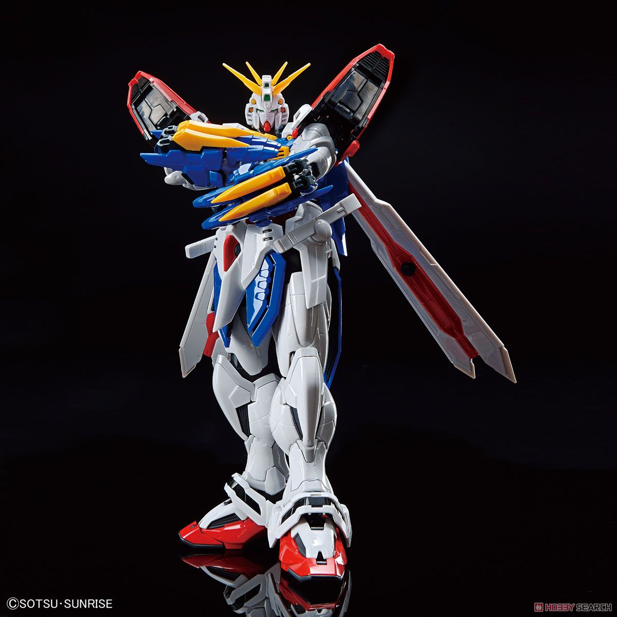 High-Resolution Model God Gundam (1/100) (Gundam Model Kits) Item picture4