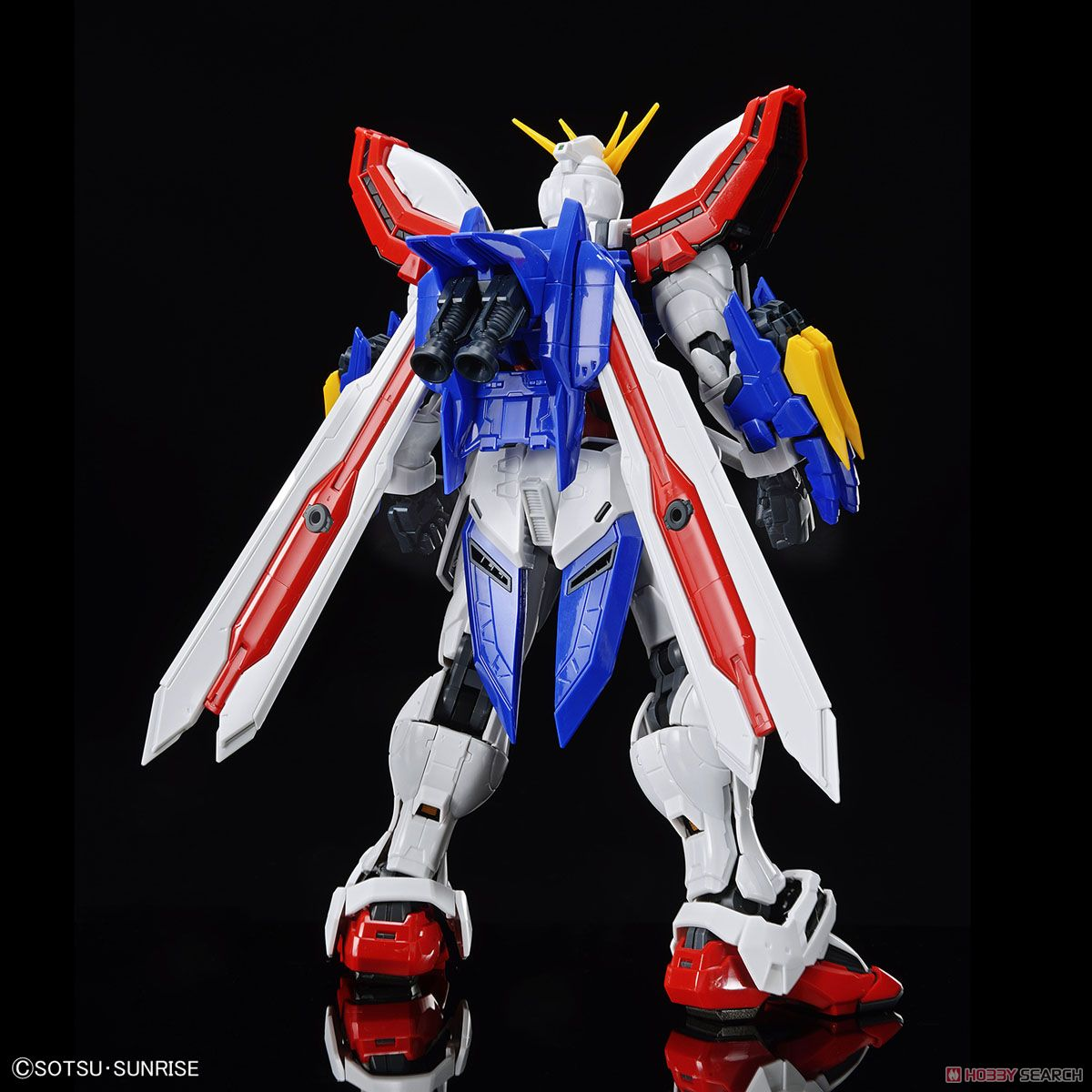 High-Resolution Model God Gundam (1/100) (Gundam Model Kits) Item picture5