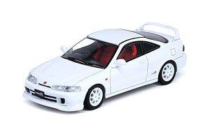 Honda インテグラ Type-R DC2 ホワイト 交換用ホイールセット、デカール付 (ミニカー)